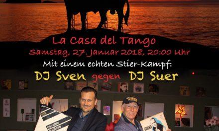 Plakat für die Spanische Tangonacht